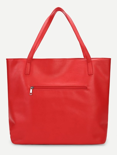 3a6f12694a Semplice borsa shopping con design costellato-Italian SheIn(Sheinside)
