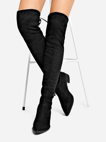 0f0dc529d5dc Suede Over The Knee Boots