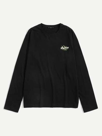 T-Shirts   Débardeurs homme de Femme-French SheIn(Sheinside) 8efcdcecaac0