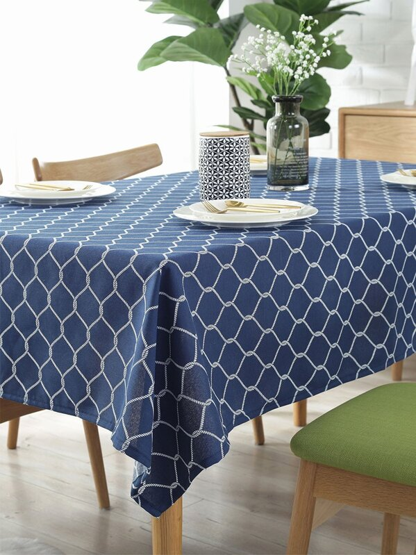Pentagon Pattern Tablecloth