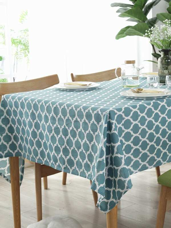 Geometric Pattern Tablecloth
