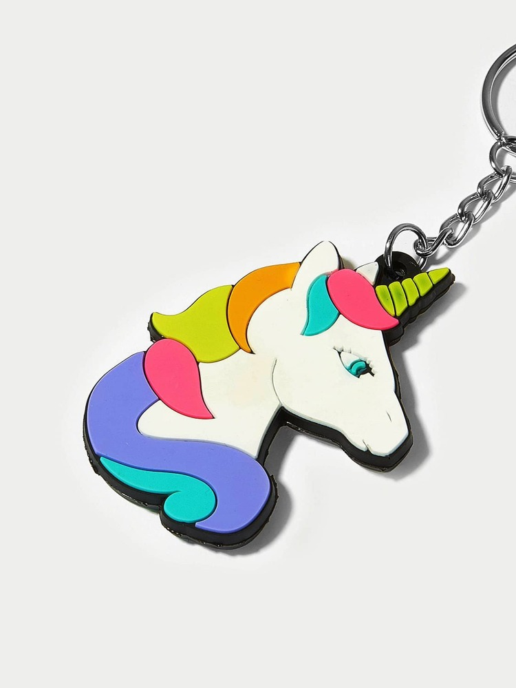 a86d0ecc82 Cartoon Animal Shaped Keychain | SHEIN