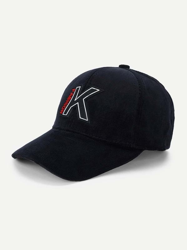 Men Letter Print Baseball Cap -SheIn(Sheinside) 08e0ce01c9356