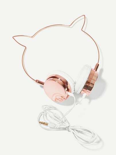 Cat Ear Shaped On-Ear Headphone e7db24f1c81