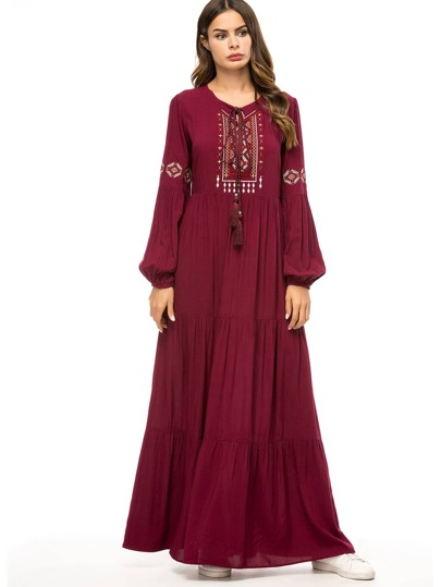 7ab275eac1ec Vêtements traditionnels arabes de Femme-French SheIn(Sheinside)