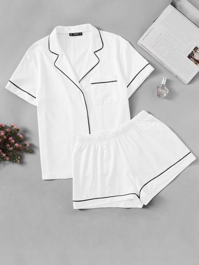 58a6b3567b2d0 Shop Women s Nightwear, Sleepwear Online   Sheinside