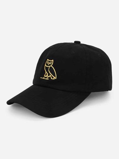 Owl Embroidery Baseball Cap 7e2071f00b9