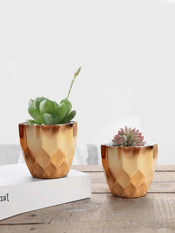 Geometric Flower Pot 1pc