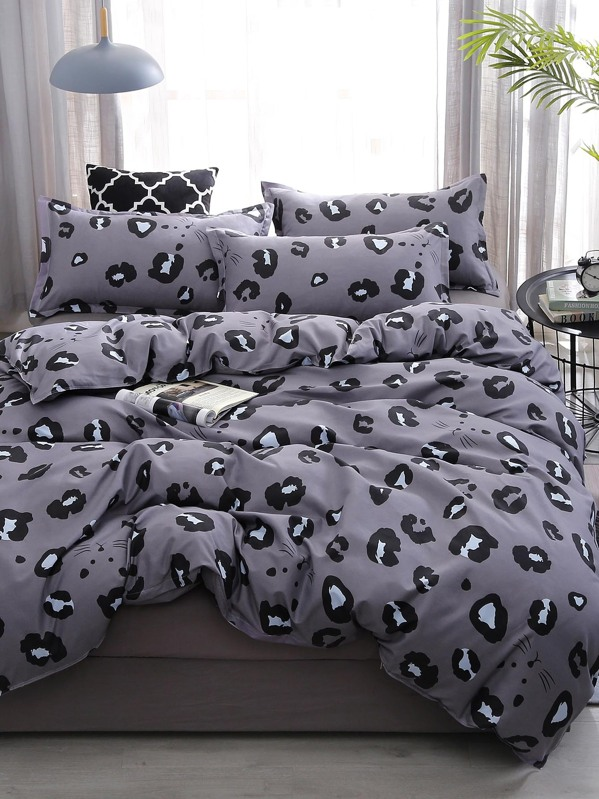 Leopard Print Sheet Set
