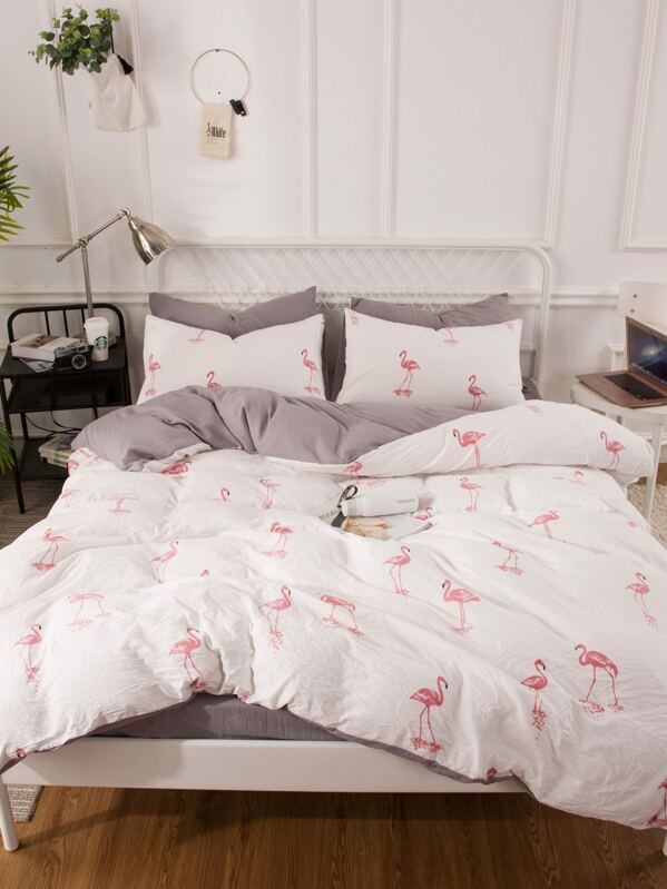 Flamingo Graphic Sheet Set