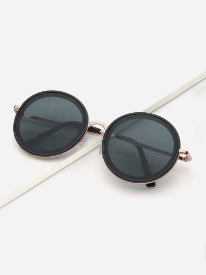 dc8850410041 Round Lens Sunglasses