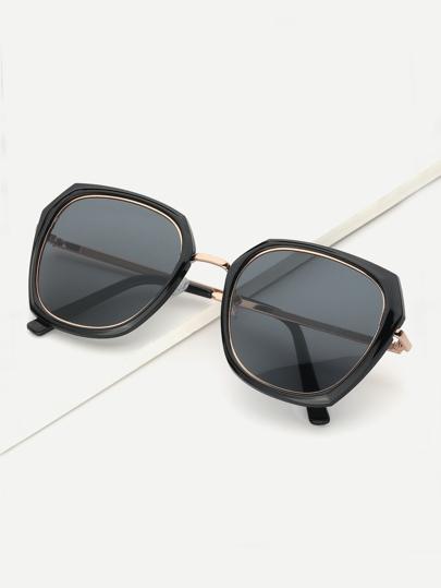 6d6fa18c08a Flat Lens Sunglasses