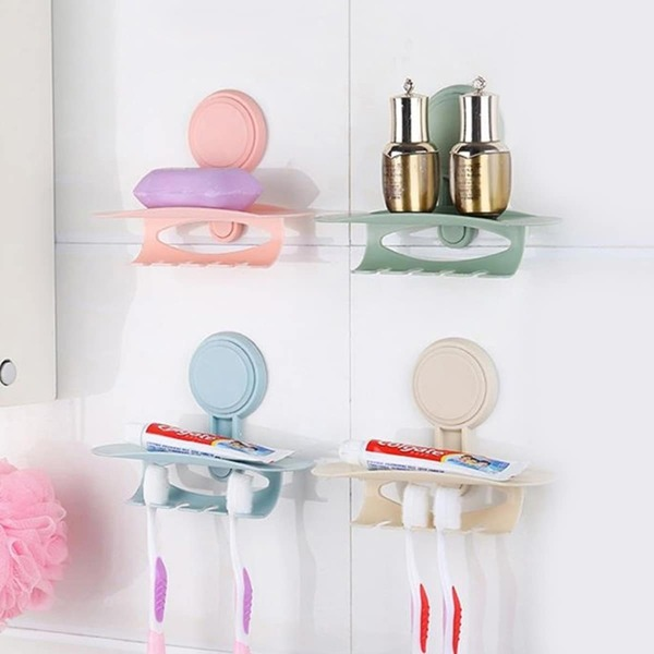 Random Color Toothbrush Holder 1pc, Multicolor