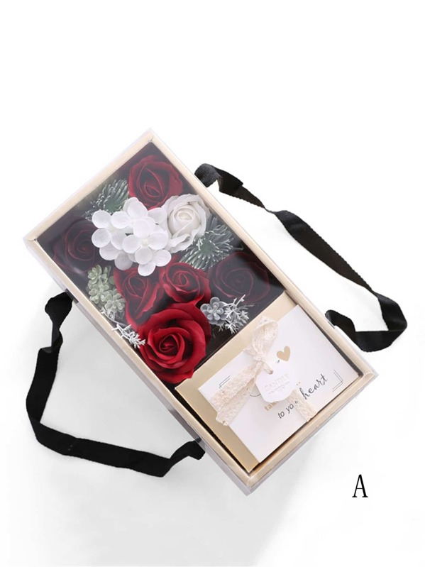 Boxed Artificial Flower