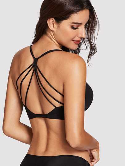 bcf0bb8d31 Caged Back Bralette