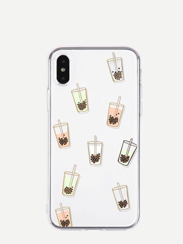 Beverage Pattern I Phone Case by Sheinside