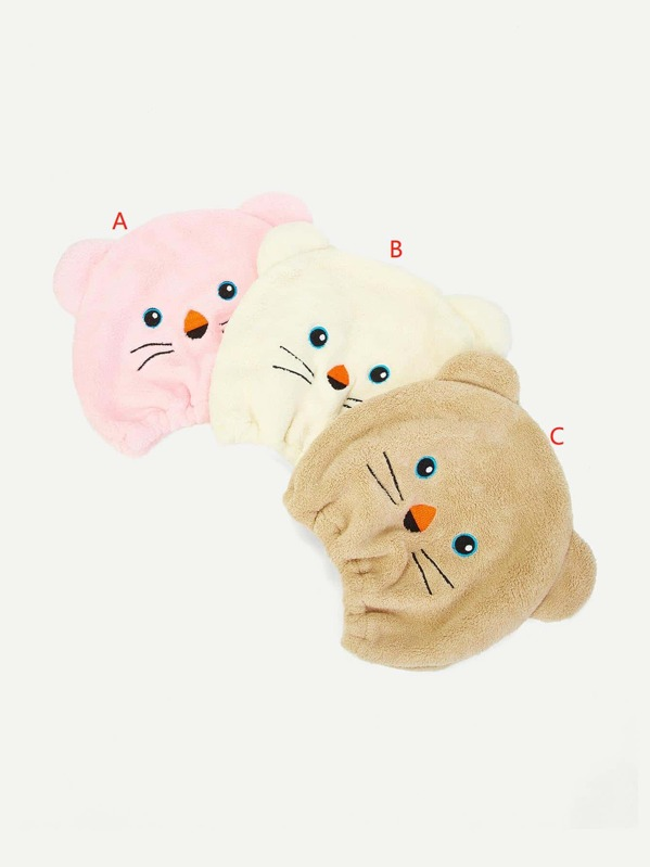 Bear Dry Hair Cap 1pc
