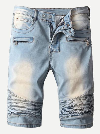 Mens Fashion Men Denim Shorts Mens Apparel Shein