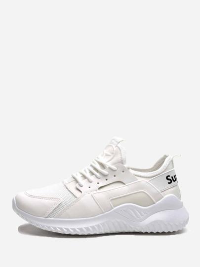 Sneakers in maglia con lacci c86c75e1bcd