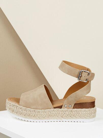 c1a5c5ff4ed9 Espadrille Platform Ankle Strap Wedge Sandals