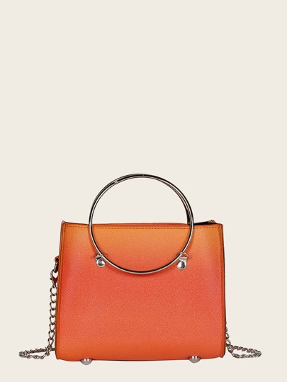 8ad39d2943 Ombre Chain Bag With Inner Pouch