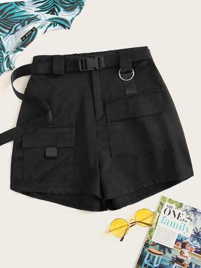 722e148449a Plus Pocket Solid Shorts
