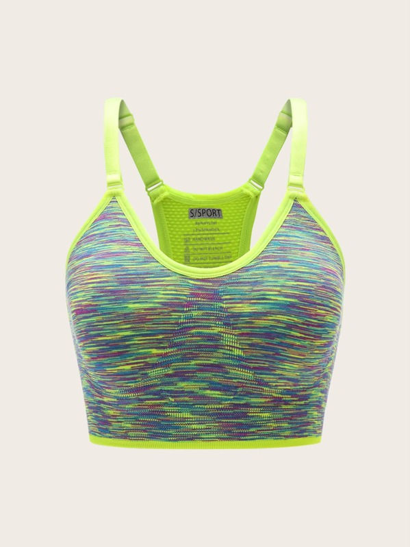 7cda32093ac6b Cheap Space Dye Racer Back Sports Bra for sale Australia