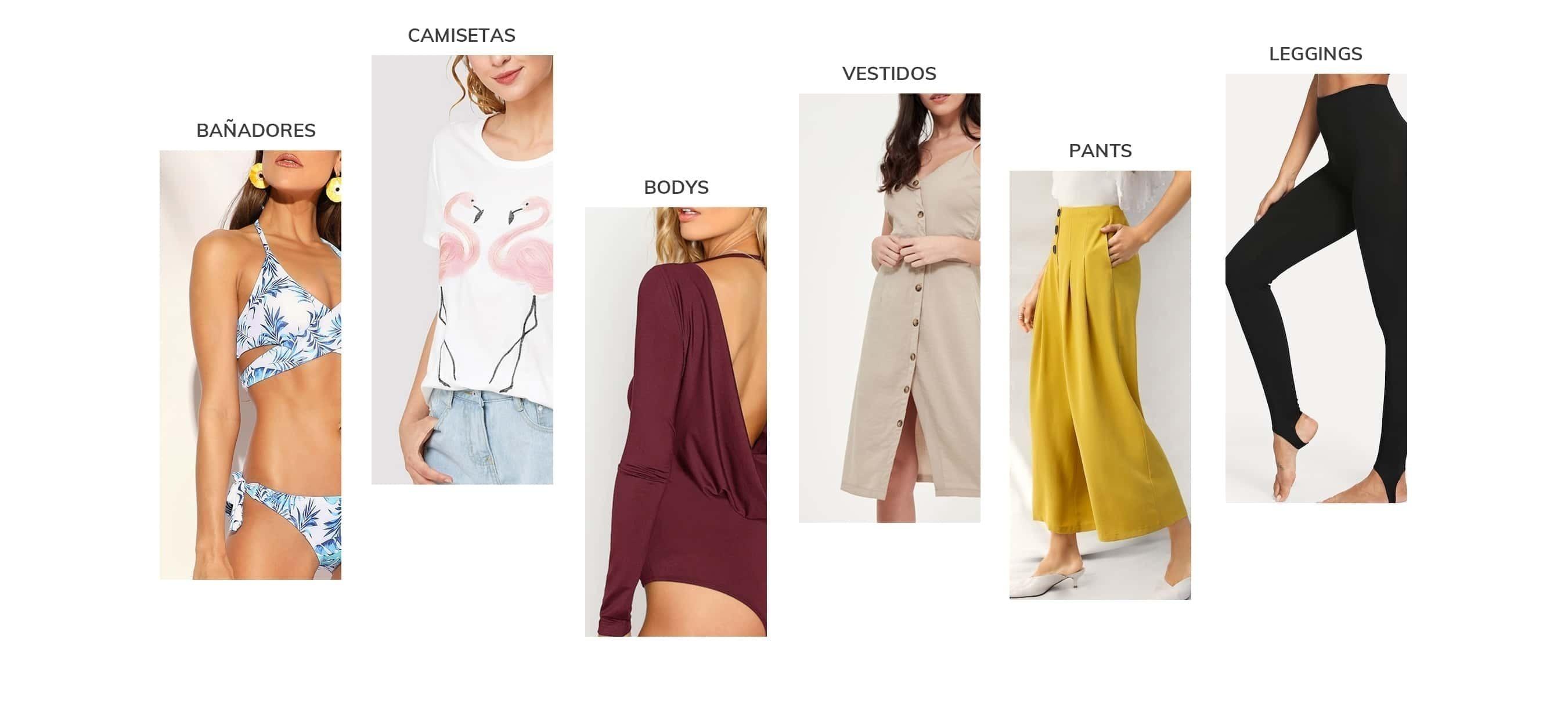 Ropa y moda de Mujer al mejor precio online  f9f1b2736a00e