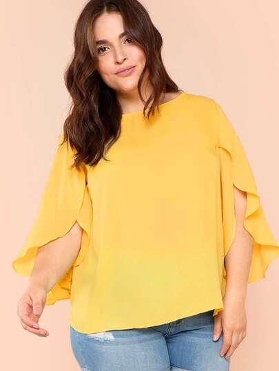 743a34c3e4de4 متجر القمصان والبلوزات الأزياء كبيرة حجمها للمرأة