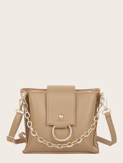 04d480a7ed6e Ring Decor Shoulder Bag