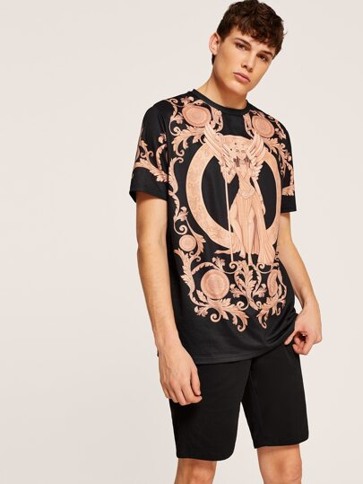 7fa2f00224b Men Baroque Print Tee