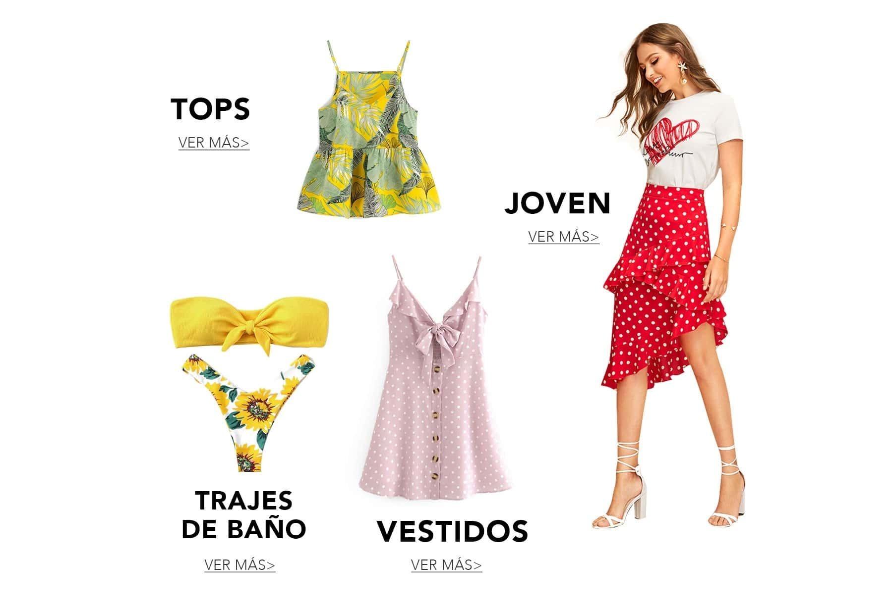 Ropa y moda de Mujer al mejor precio online  4666fddd3eeb