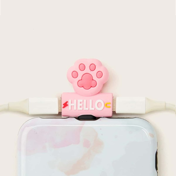 Cartoon iPhone 2 In 1 USB Converter