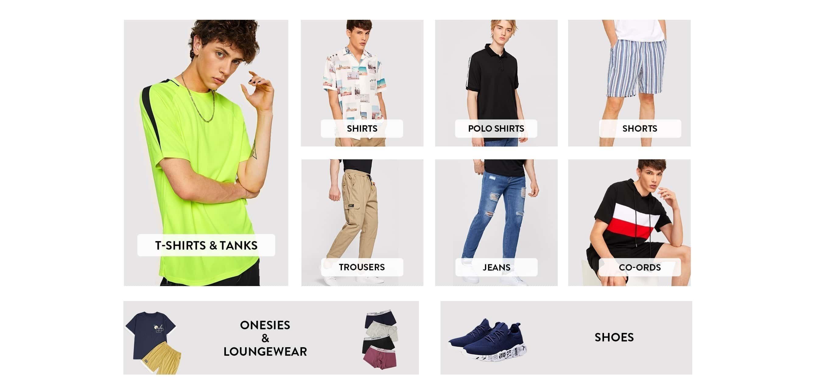 a2eca5195b80 Men s Clothing   Fashion