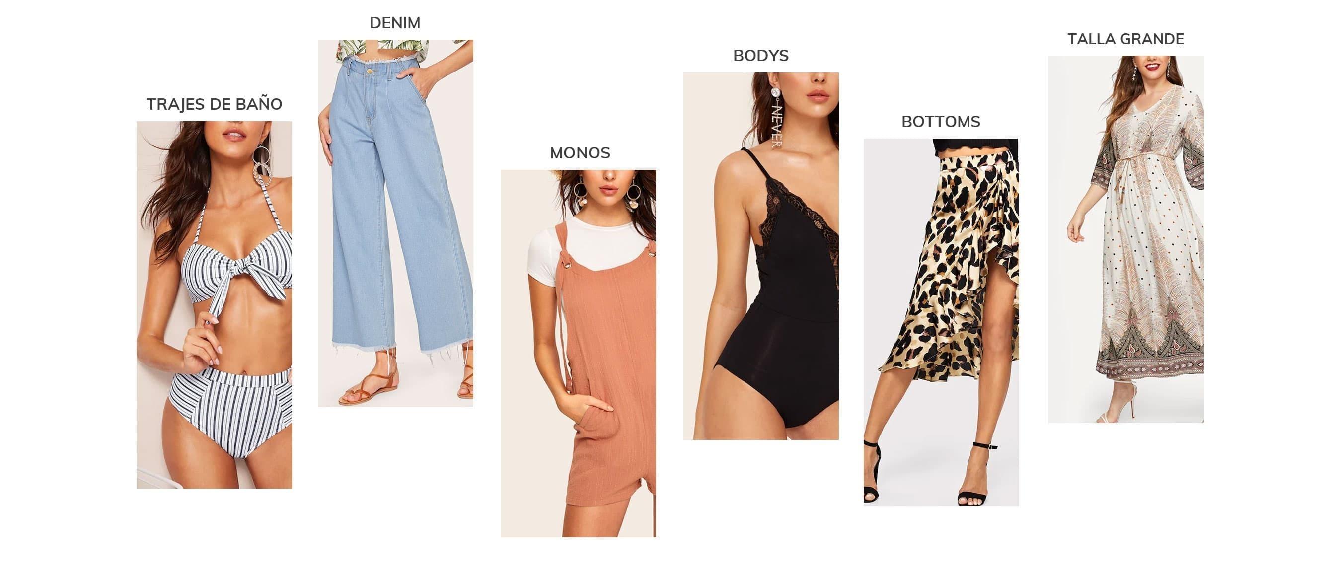 23a16d7fef19e Ropa y moda de Mujer al mejor precio online