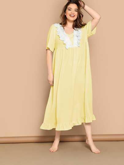236dff8b3 ملابس منزل مقاسات كبيرة   نساء ملابس منزل مقاسات كبيرة على الإنترنت   شي إن