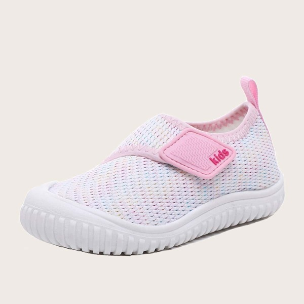 Baby Girls Slip On Knit Sneakers, Multicolor