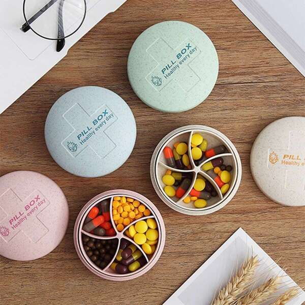 Weekly Pill Storage Box 1pc