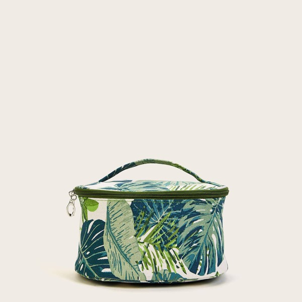 Tropical Pattern Makeup Bag